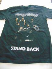APRIL WINE Stand Back '76 Canada Tour Retro Shirt Brand New Size M-XL