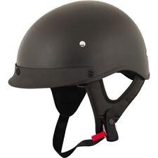 Speed And Strength SS410 Half Helmet - Matte Blk, All Sizes