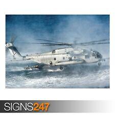 Ch 53E Super Stallion (4029) cuadro arte cartel impresión de foto A0 A1 A2 A3 A4