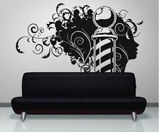 Vinyl Wall Decal Sticker Barbershop Design OS_AA594s 47W x 36H