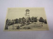 Postcard Braggs Tower Mission Ridge Chattanooga Tn