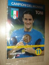 MEDAGLIA N° 11 ITALIA CAMPIONI DEL MONDO 2006 TONI NEW