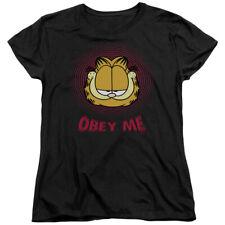 Garfield Comic Obey Me Women's T-Shirt Tee
