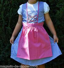 Kinderdirndl Trachtenkleid Heidi Dirndl Mädchen  Oktoberfest  Outfit