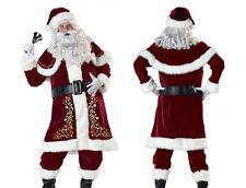 Vestito Costume Babbo Natale Cosplay Santa Claus Christmas Suit SANTC04 P