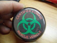 Certified Zombie Rescue Vehicle Pool Ball Shift Knob Jeep Wrangler YJ, TJ, JK
