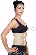 Abdominal Waist Support Belt soft Flexible Binder Brace post operative A101