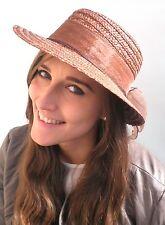 mujer sombrero de paja selección color con motivo Gorro verano Parasol BAND