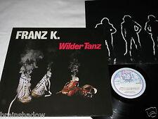 FRANZ K. wilder tanz LP Aladin Rec. GER 1980 Hard Krautrock
