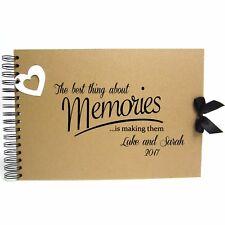 Personalised Kraft Scrapbook A5 A4 Best Memories, Photo Album, Keepsake