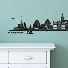 Skyline Hannover als Wandtattoo Wandaufkleber Wanddeko Aufkleber von Wandkings