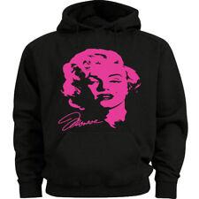 Neon Pink Marilyn Monroe decal Sweatshirt Men's Size Hoodie