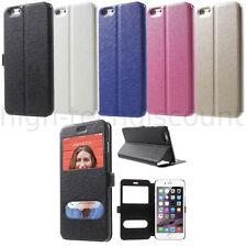 Housse etui coque portefeuille view case pour Apple iPhone 6 Plus (5.5) + film