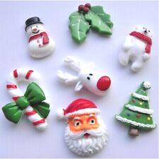 Christmas Fridge Magnet - Santa Polar Bear Reindeer Tree Mistletoe Candy Cane