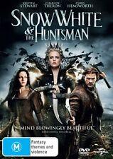 SNOW WHITE & THE HUNTSMAN - BRAND NEW/SEALED R4 DVD (CHARLIZE THERON, HEMSWORTH)