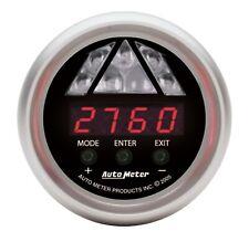 "Auto Meter 3387 Sport-Comp Gauge Shift Lite 2 1/16"" Level 1 Amber LCD"