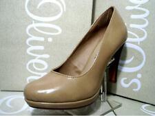 s.Oliver Damenschuhe Pumps High Heels Schuhe beige 5-22440-30 Gr.36-41 (New)