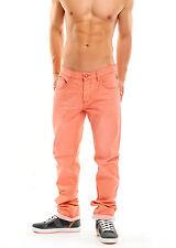 B13060431 UOMO EIGHT 2 Nine JEANS Colour DENIM Basic 5 Pocket Peach CORALLO ARANCIONE
