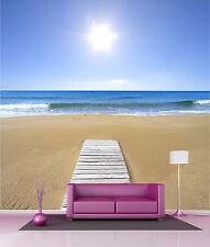 Papier peint géant décoration murale Sable plage réf 4540