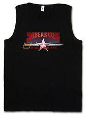 SABER RIDER & THE STAR SHERIFFS I TANK TOP GYM - Sei Jushi Bismarck Saber Rider