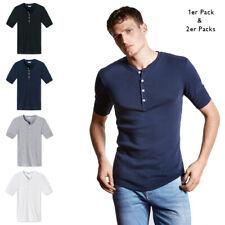SCHIESSER Revival Herren T-Shirt - kurzarm Unterhemd, Farbauswahl, Vorteilspacks