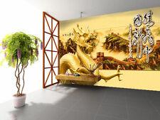 3D Dragon Mountain 984 Wallpaper Mural Paper Wall Print Wallpaper Murals UK Kyra