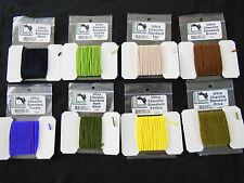 Ultra Chenille estándar ø3mm Hareline 4,5 metros 10 colores selección best seller