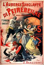 Vintage Français Style Art Nouveau shabby chic imprimés & AFFICHES 122 A1, A2,