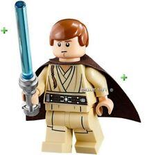 ORIGINALE LEGO STAR WARS-GAMBE stampate giovani OBI WAN KENOBI figura + REGALO-NUOVO