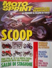 Motosprint 3 1993 Inserto Motomondiale Cross 92 nella 250. Capirossi all'attacco