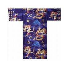 Authentische Japanische Yukata / Luftiger Kimono: Drache & Mt. Fuji #893 (de)
