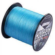 Superb Braid Line 100M-2000M 6-300LB Pro Blue Dyneema Braided Fishing Line