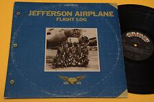 JEFFERSON AIRPLANE 2LP FLIGHT LOG-PROG-1°ST ORIG USA 1977 TEXTURED COVER !