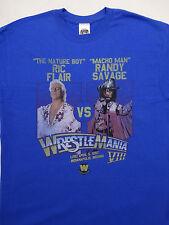Randy Macho Man Savage vs Ric Flair Wrestlemania VIII 8 WWE Wrestling T-Shirt