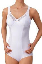 Susa body sin perchas 6508, 75-95 B-D en blanco (con una mayor lote abdominal)