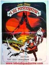 L'ILE MYSTERIEUSE Captain Nemo Affiche Cinéma / Movie Poster JULES VERNE