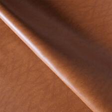 Pelle finta ecopelle tessuto sintetico marrone rivestimento sella divano seduta