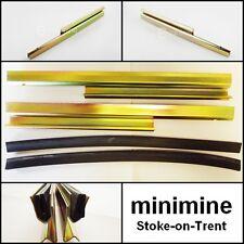 CLASSIC Mini finestra RUNNER BINARI COPPIA MK3 > gradino a piè d'oca rotaie AUSTIN ROVER 1970-2001