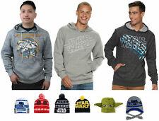 Star Wars Sweatshirt Hoodie Knit Pom Ski Hat - Men's S M L XL XXL - New w/Tags!