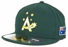 Australia Men's New Era 59FIFTY World Baseball Classic Fitted Hat Cap - Green