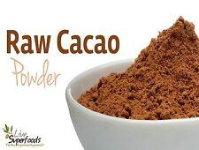 Raw Organic Cacao/Cocoa powder ( Peruvian ) 10 grams to 1 KG