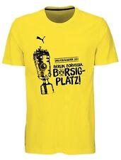 PUMA Men / Herren BVB WINNER TEE Pokalfinale 2017 / T-Shirt