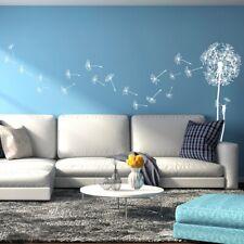 Natural Dandelion Vinyl Wall Decal for nursery crib art, living room + more K645