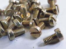 "25 Pcs 4BA Cheese Head Screw 1/4"" Model Making Crafts Electronics etc FB14-4BA"