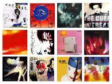 Miniature 1/12 non jouable Vinyl Record Albums-The Cure-DIVERS TITRES