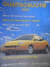 Quattroruote 453 1993 Novità Fiat:finalmente la Coupé.La nuova Seat Ibiza