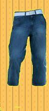 3/4 Jeans Denim Blue-used in 5 Pocket Form Blue-used Gr.46 48 50 52 54 Neu