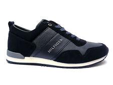 Tommy Hilfiger shoes scarpe casual da uomo sneakers in camoscio col. Blu 54d6a88c53d