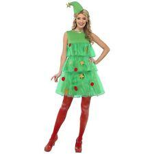 femmes nouveauté amusant Sapin de Noël étoile costume + chapeau déguisement