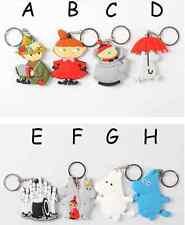 """ Moomin Valley - The Hattifatteners "" Rubber Keyring/ Keychain/ Key Holder"